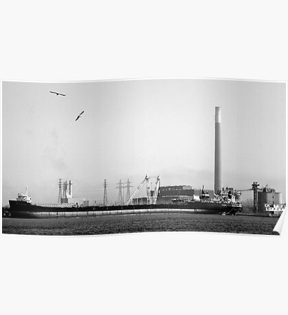 Cargo Ship - Toronto Ontario Poster