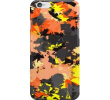 Abstract Yellow iPhone Case/Skin