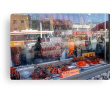 Chinatown, Reflected - Toronto Ontario Canvas Print