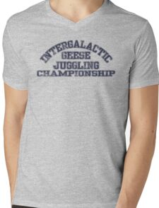 Intergalactic Geese Juggling Championship Mens V-Neck T-Shirt