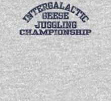 Intergalactic Geese Juggling Championship Unisex T-Shirt