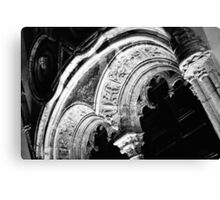 Architectural details Canvas Print