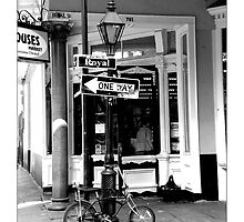 French Quarter Grocery by Sandra Russell