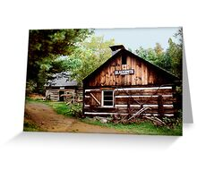 The Blacksmith Shop Greeting Card