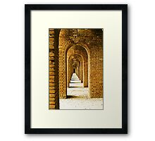 Fort Jefferson Framed Print