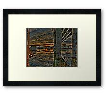 Over & Under Framed Print