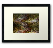 Elements of Earth Framed Print