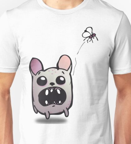 Chiwawa and the fly Unisex T-Shirt