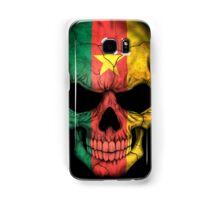 Cameroon Flag Skull Samsung Galaxy Case/Skin