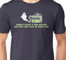 Time Traveling Ghost Unisex T-Shirt