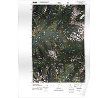 USGS Topo Map Washington State WA Captain Point 20110428 TM Poster