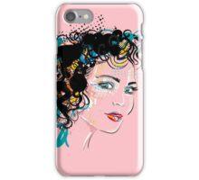 Retro Girl iPhone Case/Skin