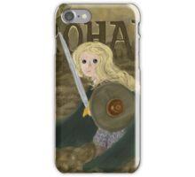 Éowyn the Brave iPhone Case/Skin