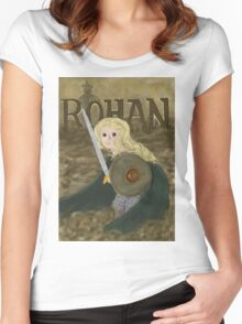 Éowyn the Brave Women's Fitted Scoop T-Shirt