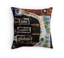 global Throw Pillow