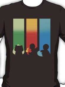 RGB: Bulbasaur, Charmander, Squirtle T-Shirt