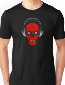 skull rock - red Unisex T-Shirt