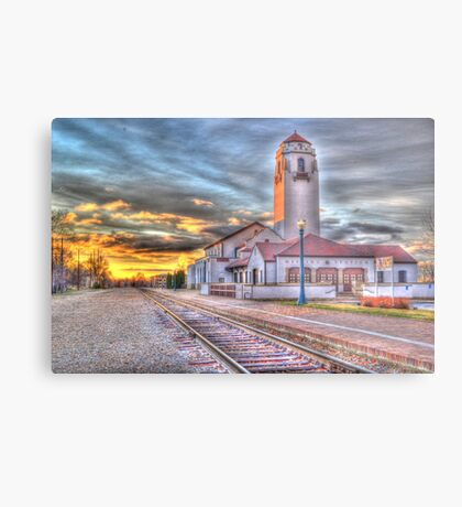 Sunset Depot - Graphic Novel Metal Print