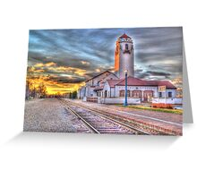 Sunset Depot - Graphic Novel Greeting Card