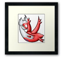 Pokemon - Latias Framed Print