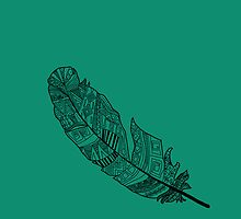 Aztec Feather by Alice McRoe