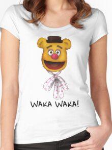 Waka Waka Women's Fitted Scoop T-Shirt