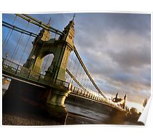 Hammersmith Bridge Poster