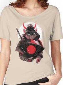 Samurai Cat Women's Relaxed Fit T-Shirt