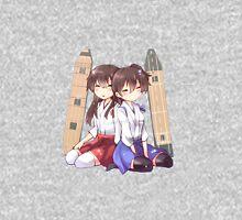 Akagi x Kaga Chibi Sleeps Unisex T-Shirt