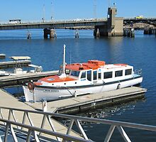 'CLEAN AS A WHISTLE!' loved pleasure boat, Port Adelaide. by Rita Blom