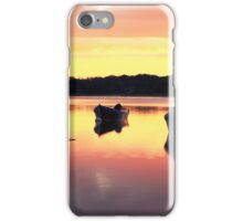 Dawns colors reflecting on Orleans Cove iPhone Case/Skin