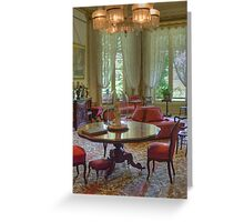 Drawing Room, Vaucluse House, Sydney, NSW Greeting Card