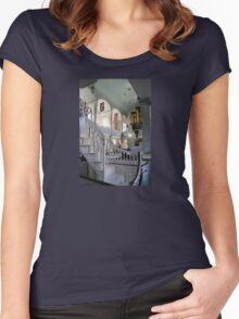 Inside Old North Church Women's Fitted Scoop T-Shirt