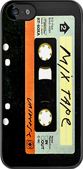 Vintage Mix cassette tape iphone 4 4s, iPhone 3Gs, iPod Touch 4g case by www. pointsalestore.com