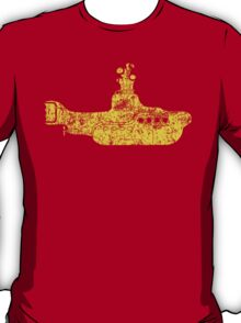 Grunge Yellow Submarine T-Shirt