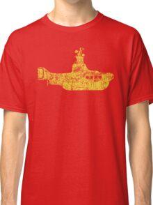 Grunge Yellow Submarine Classic T-Shirt