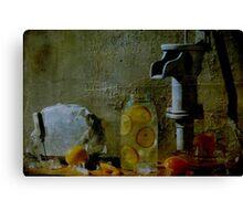 Orange Drink Canvas Print