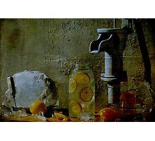 Orange Drink Photographic Print