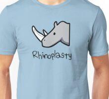 Rhinoplasty (text) Unisex T-Shirt