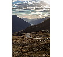 Crown Range Road Photographic Print