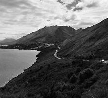 Lake Wakatipu by gematrium