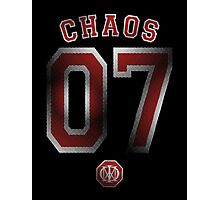 Systematic Chaos 2007 Red Design - Dream Theater Photographic Print