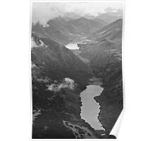Lakes, mountains Poster