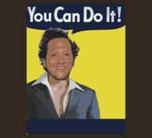 "Rob Schneider says ""You Can Do It!"" T-Shirt"
