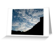 Tynemouth Sky Greeting Card