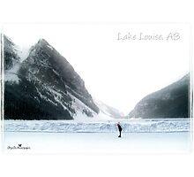 Lake Louise postcard Photographic Print