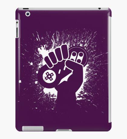 SNES Controller Splat iPad Case/Skin
