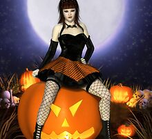 Pumpkin Pinup by Brandy Thomas