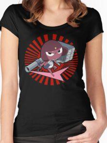 Giroro Women's Fitted Scoop T-Shirt