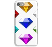 Sonic The Hedgehog Chaos Emeralds iPhone Case/Skin